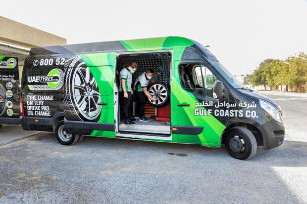 Mobile Tire Garage in UAE