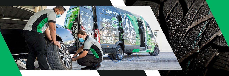 Mobile Van Garage in UAE